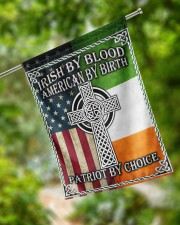 """Irish By Blood American By Birth Patriot By Choice 29.5""""x39.5"""" House Flag aos-house-flag-29-5-x-39-5-ghosted-lifestyle-17"""