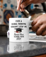Pandemic couldn't stop me customize year 2020-2021 Mug ceramic-mug-lifestyle-60