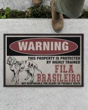"""Fila this property is protected Doormat 22.5"""" x 15""""  aos-doormat-22-5x15-lifestyle-front-01"""