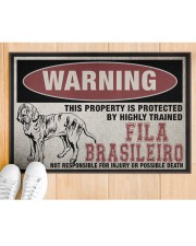 """Fila this property is protected Doormat 22.5"""" x 15""""  aos-doormat-22-5x15-lifestyle-front-03"""