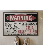 """Fila this property is protected Doormat 22.5"""" x 15""""  aos-doormat-22-5x15-lifestyle-front-04"""