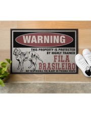 """Fila this property is protected Doormat 22.5"""" x 15""""  aos-doormat-22-5x15-lifestyle-front-12"""