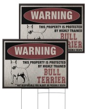 Bull dog this property is protected 24x18 Yard Sign aos-yard-sign-24x18-ghosted-front-03
