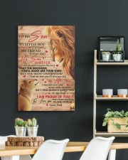 My Little Boy Yesterday Lion Dad To Son 20x30 Gallery Wrapped Canvas Prints aos-canvas-pgw-20x30-lifestyle-front-04