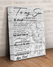 I Wish U Strength To Face Challenges Dad To Son 11x14 Gallery Wrapped Canvas Prints aos-canvas-pgw-11x14-lifestyle-front-07