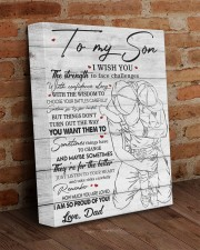 I Wish U Strength To Face Challenges Dad To Son 11x14 Gallery Wrapped Canvas Prints aos-canvas-pgw-11x14-lifestyle-front-09