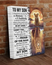 I Closed My Eyes For But A Moment Mom To Son 11x14 Gallery Wrapped Canvas Prints aos-canvas-pgw-11x14-lifestyle-front-09