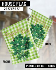 """Shamrock Bouquet 29.5""""x39.5"""" House Flag aos-house-flag-29-5-x-39-5-ghosted-lifestyle-02"""