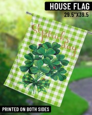 """Shamrock Bouquet 29.5""""x39.5"""" House Flag aos-house-flag-29-5-x-39-5-ghosted-lifestyle-13"""