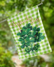 """Shamrock Bouquet 29.5""""x39.5"""" House Flag aos-house-flag-29-5-x-39-5-ghosted-lifestyle-17"""