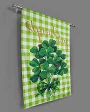 """Shamrock Bouquet 29.5""""x39.5"""" House Flag aos-house-flag-29-5-x-39-5-ghosted-lifestyle-18"""