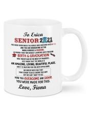 Personalized Name Senior 2021 Mom To Daughter Mug front