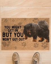 """Tibetan Mastiff you might get in Doormat 22.5"""" x 15""""  aos-doormat-22-5x15-lifestyle-front-02"""