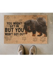 """Tibetan Mastiff you might get in Doormat 22.5"""" x 15""""  aos-doormat-22-5x15-lifestyle-front-04"""