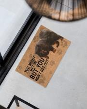 """Tibetan Mastiff you might get in Doormat 22.5"""" x 15""""  aos-doormat-22-5x15-lifestyle-front-08"""