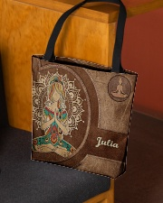 Personalized Name Hippie Namaste All-over Tote aos-all-over-tote-lifestyle-front-02