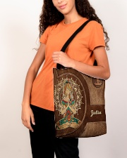 Personalized Name Hippie Namaste All-over Tote aos-all-over-tote-lifestyle-front-07