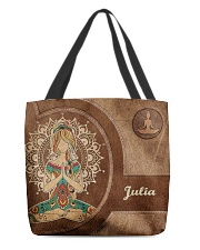 Personalized Name Hippie Namaste All-over Tote back