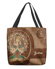 Personalized Name Hippie Namaste All-over Tote front
