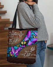 I Did't Give U The Gift Of Life To Daughter-In-Law All-over Tote aos-all-over-tote-lifestyle-front-09