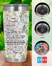 Personalized I Didn't Give You Gift To Daughter 20oz Tumbler aos-20oz-tumbler-lifestyle-front-46