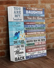 Never Feel That You Are Alone Mom To Daughter 11x14 Gallery Wrapped Canvas Prints aos-canvas-pgw-11x14-lifestyle-front-09