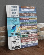 Never Feel That You Are Alone Mom To Daughter 11x14 Gallery Wrapped Canvas Prints aos-canvas-pgw-11x14-lifestyle-front-10