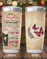 Never Feel That You Are Alone Mom To Daughter 20oz Tumbler aos-20oz-tumbler-lifestyle-front-97