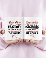 Personalized Dear Mum Of All The Fannies To Mom Mug ceramic-mug-lifestyle-30