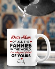 Personalized Dear Mum Of All The Fannies To Mom Mug ceramic-mug-lifestyle-64