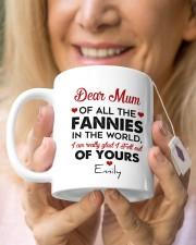 Personalized Dear Mum Of All The Fannies To Mom Mug ceramic-mug-lifestyle-67