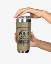 Personalized I Never Dreamed Husband To Wife 20oz Tumbler aos-20oz-tumbler-lifestyle-front-24