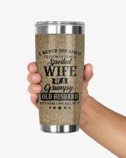 Personalized I Never Dreamed Husband To Wife 20oz Tumbler aos-20oz-tumbler-lifestyle-front-27