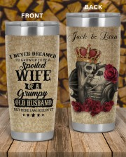 Personalized I Never Dreamed Husband To Wife 20oz Tumbler aos-20oz-tumbler-lifestyle-front-58