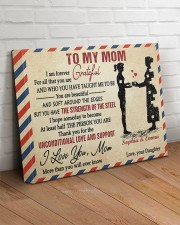 Daughter To Mom I Am Forever Grateful For All 20x16 Gallery Wrapped Canvas Prints aos-canvas-pgw-20x16-lifestyle-front-14