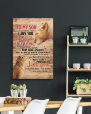 Never Forget That I Love You Lion Mom To Son 20x30 Gallery Wrapped Canvas Prints aos-canvas-pgw-20x30-lifestyle-front-04