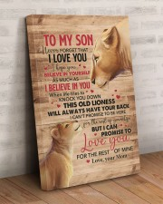 Never Forget That I Love You Lion Mom To Son 20x30 Gallery Wrapped Canvas Prints aos-canvas-pgw-20x30-lifestyle-front-07