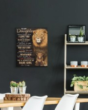 Lioness Dad To Daughter Never Forget That I Love U 16x20 Gallery Wrapped Canvas Prints aos-canvas-pgw-16x20-lifestyle-front-04