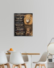 Lioness Dad To Daughter Never Forget That I Love U 16x20 Gallery Wrapped Canvas Prints aos-canvas-pgw-16x20-lifestyle-front-05