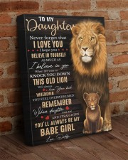 Lioness Dad To Daughter Never Forget That I Love U 16x20 Gallery Wrapped Canvas Prints aos-canvas-pgw-16x20-lifestyle-front-09