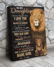Lioness Dad To Daughter Never Forget That I Love U 16x20 Gallery Wrapped Canvas Prints aos-canvas-pgw-16x20-lifestyle-front-13