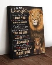 Lioness Dad To Daughter Never Forget That I Love U 16x20 Gallery Wrapped Canvas Prints aos-canvas-pgw-16x20-lifestyle-front-17