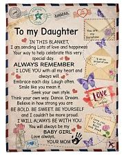 "In Blanket I'm Sending Lot Of Love Mom To Daughter Small Fleece Blanket - 30"" x 40"" front"