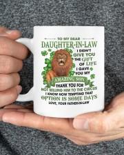 I Didn't Give U Gift Of Life To Daughter-In-Law Mug ceramic-mug-lifestyle-31