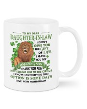 I Didn't Give U Gift Of Life To Daughter-In-Law Mug front