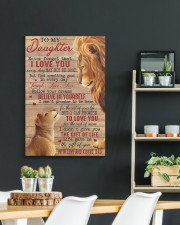 Never Forget That I Love You Lion Dad To Daughter 20x30 Gallery Wrapped Canvas Prints aos-canvas-pgw-20x30-lifestyle-front-04