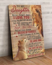 Never Forget That I Love You Lion Dad To Daughter 20x30 Gallery Wrapped Canvas Prints aos-canvas-pgw-20x30-lifestyle-front-07
