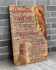 Never Forget That I Love You Lion Dad To Daughter 20x30 Gallery Wrapped Canvas Prints aos-canvas-pgw-20x30-lifestyle-front-12