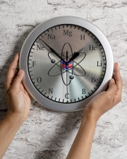 Clock Of Chemistry Wall Clock aos-wall-clock-lifestyle-front-02