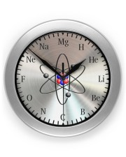 Clock Of Chemistry Wall Clock front